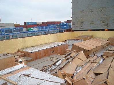 Cargo damage survey